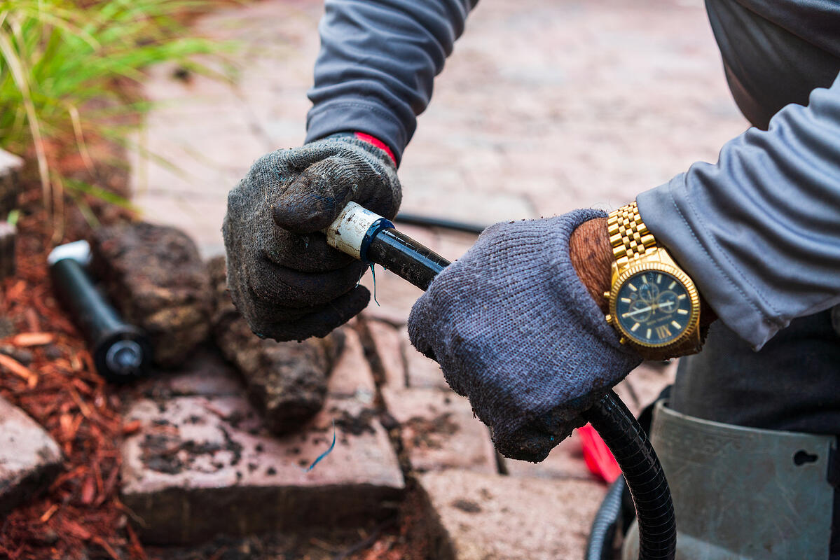 irrigation contractor system repair