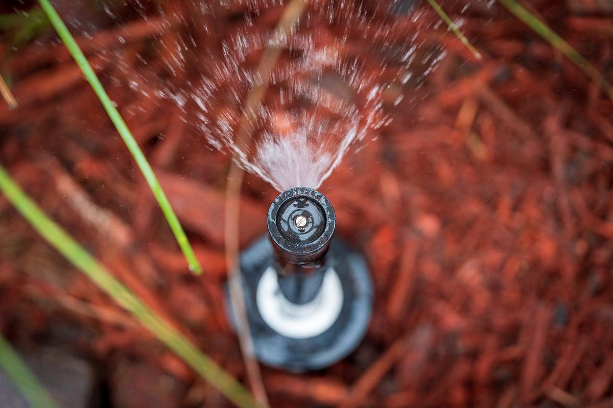 pop up irrigation sprinkler head