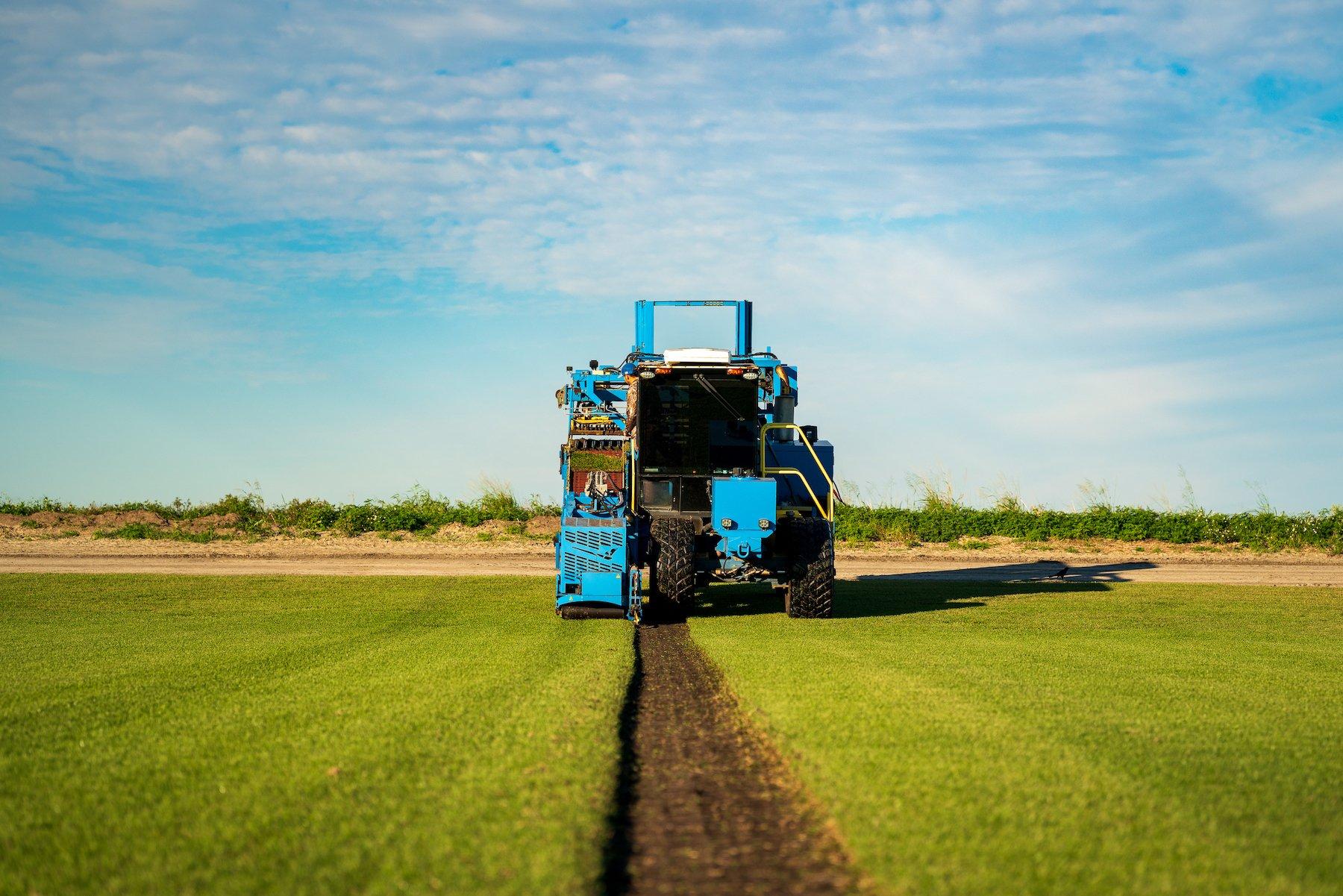 sod farm harvesting 26