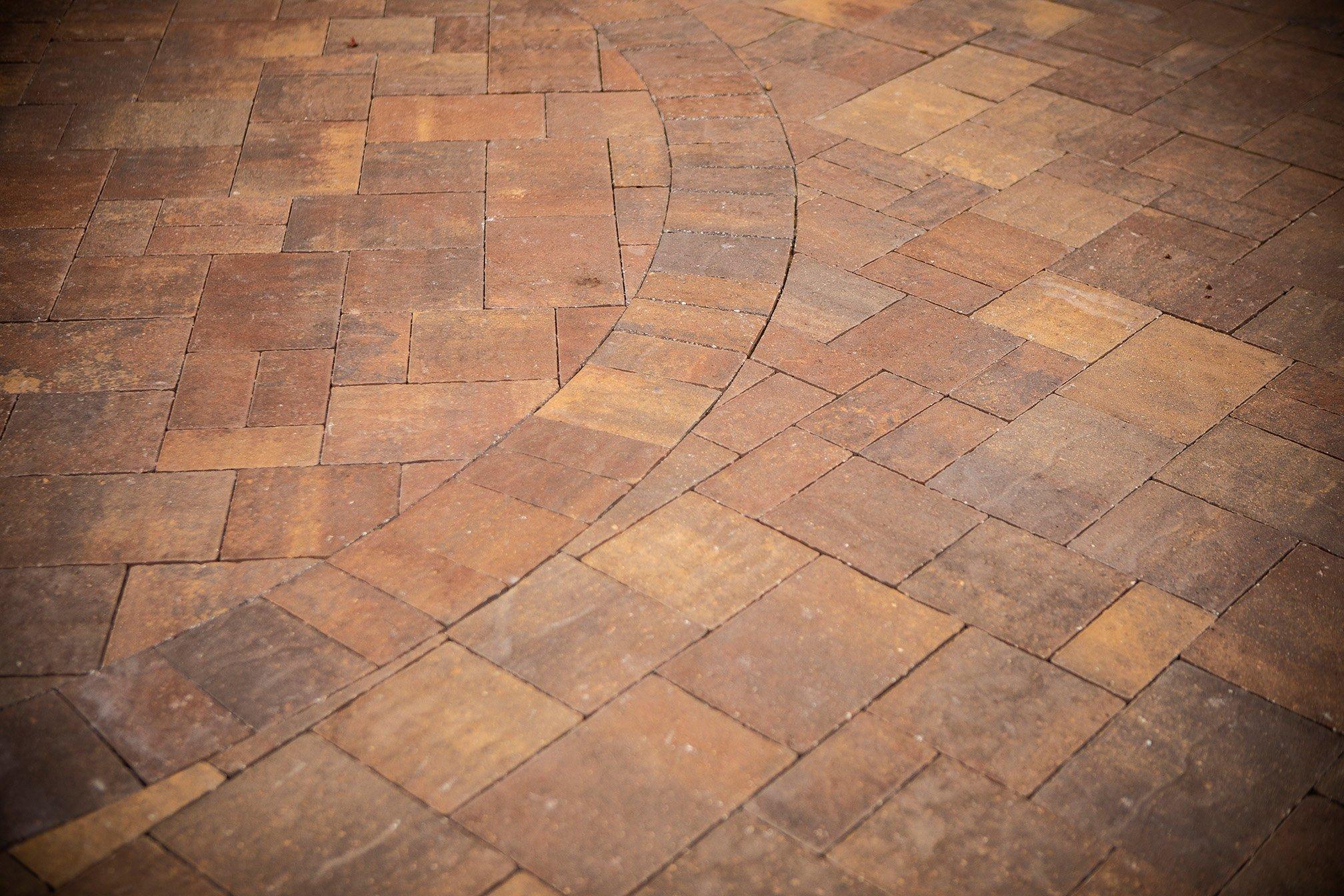 Paver pattern for driveway