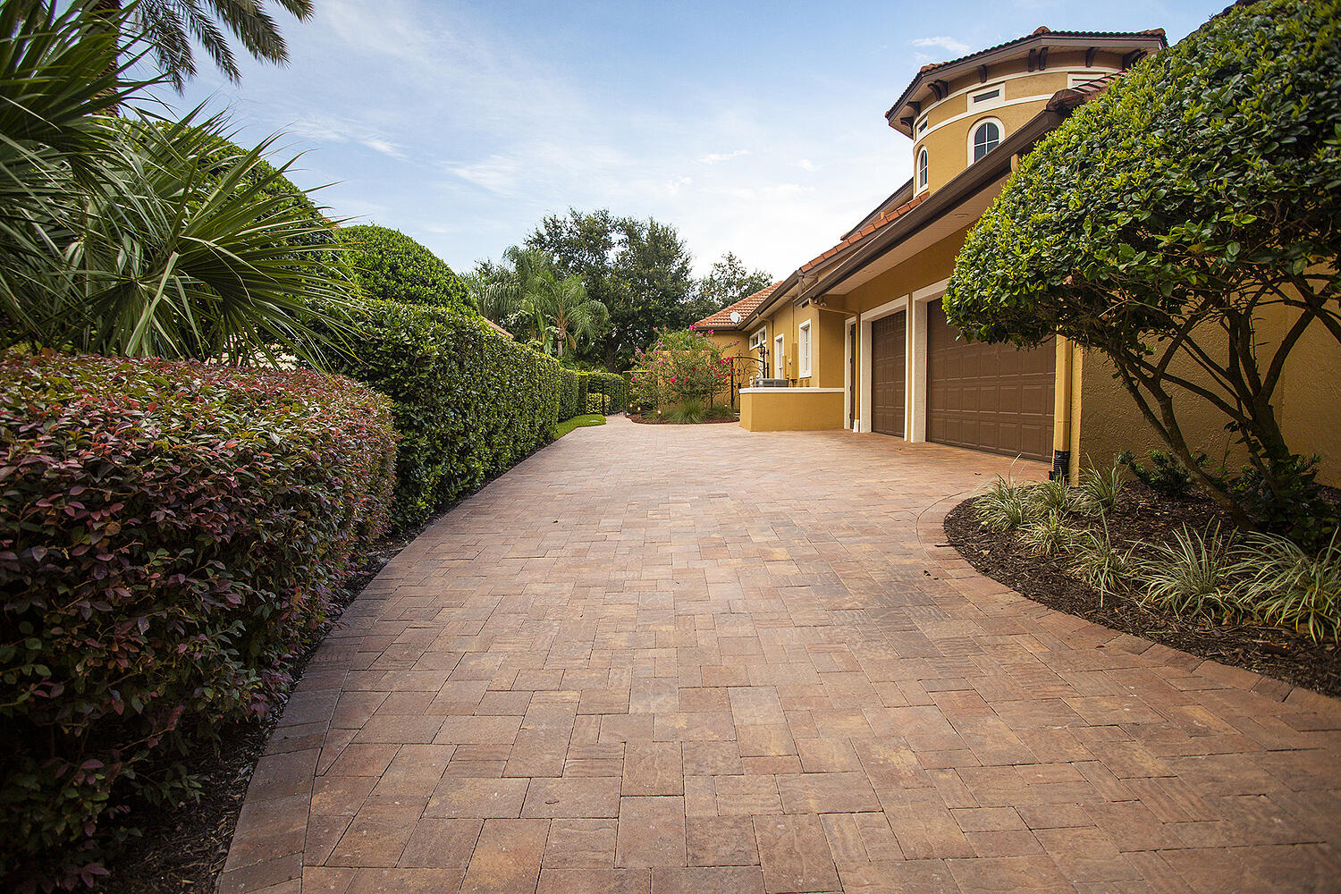 Paver installation in Orlando, Florida