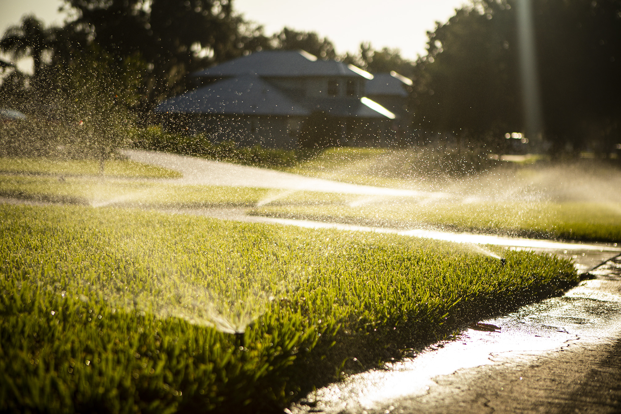 irrigation system going off in orlando
