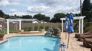 Conway Backyard Landscape Design